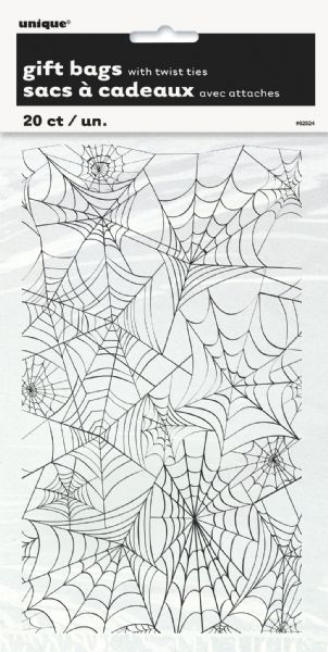 Spider Web Cellophane Gift Bags (20)